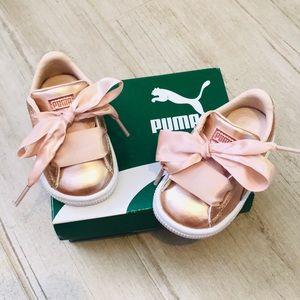 Puma Basket Heart Lunar Baby Sneakers